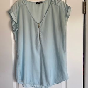 Size M Light Blue Top from Express